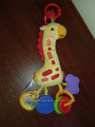 Мягкая игрушка на коляску Fisher price
