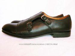 ZARA MAN туфли мужские. Натуральная гладкая кожа. Размер 42