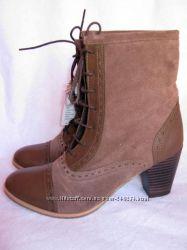 SPRINGFIELD ботинки. Испанская обувь. Натуральная кожа. Размер 39