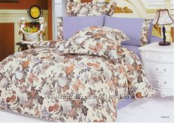 Красивый комплект постельного белья  Le Vele CRASH жатка в ассортименте