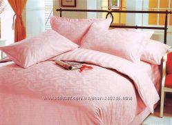 Комплект постельного белья Le Vele евро из жаккарда в ассортименте.
