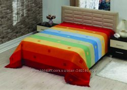 Плед  Le Vele Royal Stripes Rainbow