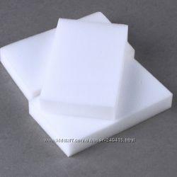 Меламиновые губки белые повышенной плотности 100х60х20 мм