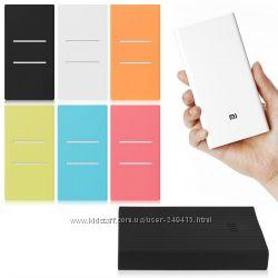 Cиликоновый чехол для повербанка Xiaomi power bank 20000 мАч рифленый
