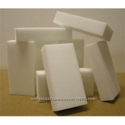 Меламиновые губки белые в наличии 100х60х20 мм