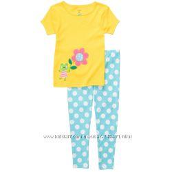 Комплект пижамы для девочки Carters, 5 лет