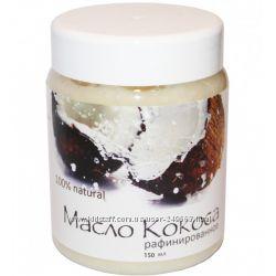 100 Масло Кокоса рафинированное для волос, лица и тела, 150 мл
