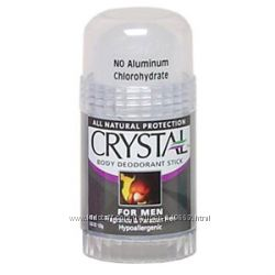 Натуральный дезодорант Кристалл для мужчин стик, 120 г ТаиландСША