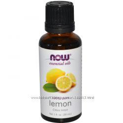 Now Foods, Эфирное масло лимона,  30 мл