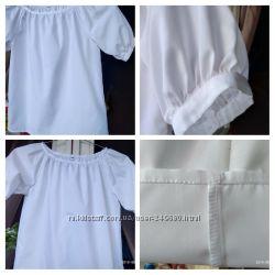 Блуза біла, р-ри 30-38