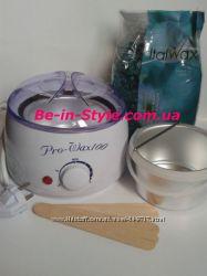 Набор для депиляции деликатных зон с воском Italwax Азулен