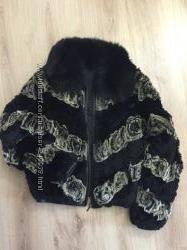 Курточка из меха кролика