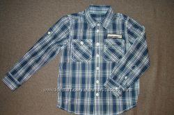 рубашки Benetton, на 4-5 лет, рост 110, можно для двойни