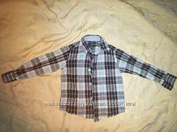 Рубашки фирменные на мальчика 2-6 лет