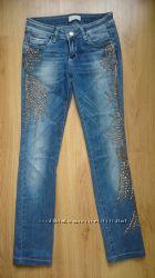джинсы с шипами турецкие