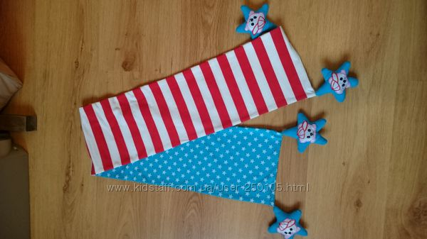 шарф американский флаг