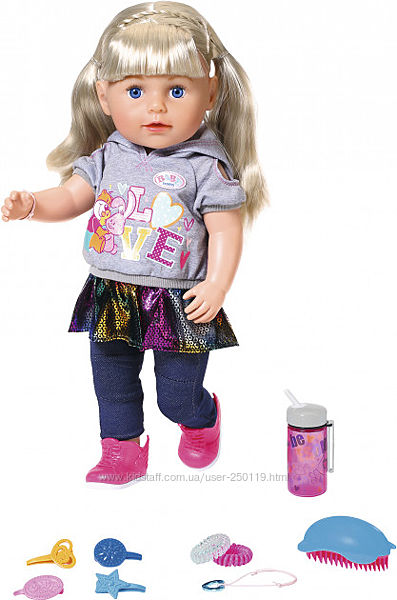 Лялька Baby Born Ніжні обійми Сестричка-Модниця оригінал 824603