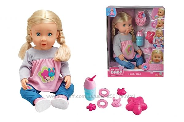 Лялька НББ Маленька дівчинка 503005