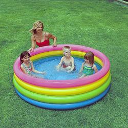 Детский надувной бассейн Intex Пылающий закат 56441