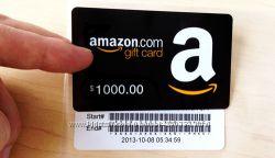 Amazon gift card чистые надежные карты