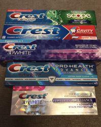 Crest зубные пасты из США