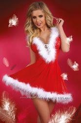 Новогодние эротические женские костюмы от Livia Corsetti
