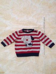 Отличный, милый свитер для мальчика 3-6 мес.
