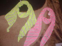 Bershka. Оригинал. Шикарный яркий палантин-шарф. Или как накидку и парео
