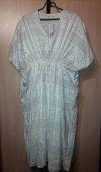 Тренд. летнее платье из прошвы. h&m. оверсайз. р м/л/хл