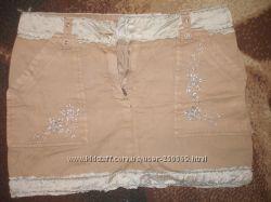 Бомбезные джинсовые фирменные юбочки от 42 до 50 р-ра