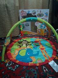 Bright starts развивающий детский коврик