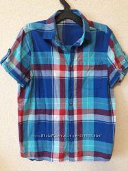 Рубашка для мальчика на лето на 11-12лет a4406eb90bb