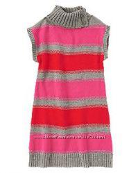 Вязаное теплое платье с крейзи  m