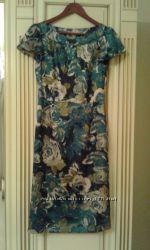 Лаура Эшли нарядное платье р. 34-36 UK 8