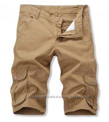 шорты с карманами карго