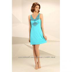 Ночная сорочки Violet Delux НС-М-67 цвет лазурный