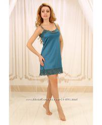 Шелковые ночные сорочки и халаты Violet Delux