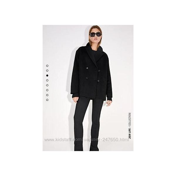 Пальто -пиджак zara модель оверсайз