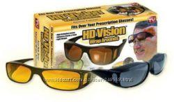 Антибликовые очки для водителя HD Vision , антифары