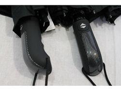 Мужской зонт премиум класса с анатомической эргономичной ручкой