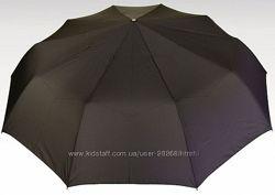 Мужской зонт  Premium segment с кожаной рукояткой