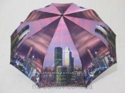 Оригинальный облегченный зонт серия Night New York, полный автомат.