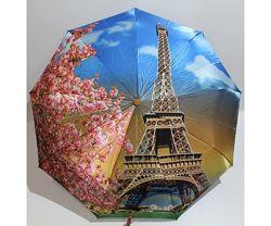Оригинальный облегченный зонт серия Париж, полный автомат.
