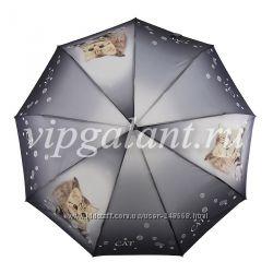 Стильный молодежный женский зонт The cats collections