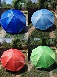 Пляжный зонт усиленный сис-ма ромашка Д1.8,2-2.5-3м