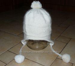 Ангоровая шапка женская, подростковая