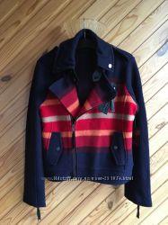 Новая яркая шерстяная куртка L. A. M. B.