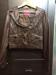 Фирменная укороченная курточка Portobello Punk эко кожа