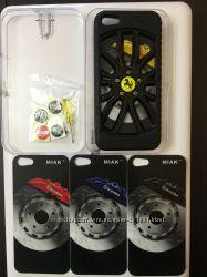 Чехол на Iphone 55sse в виде колеса с разными вкладками