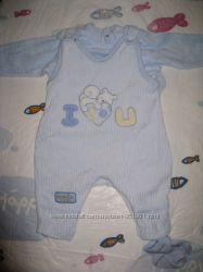 Велюровый костюмчик Flexi на малыша